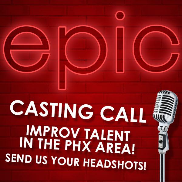 improv audition casting call