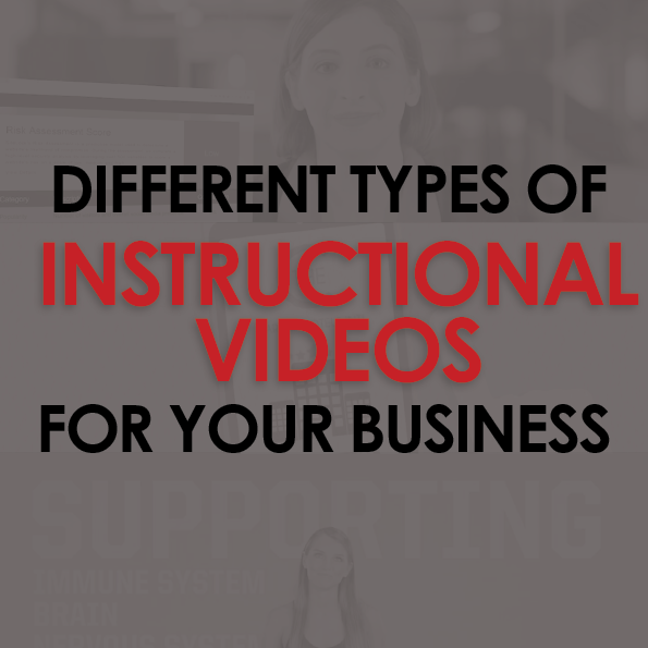 different types of instructional videos